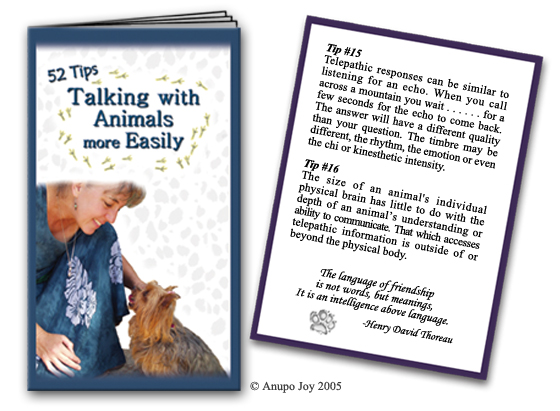 Book 52 Tips  Talking with Animals more Easily by AnupoJoy